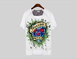 디자이너 만지, 핸드페인팅을 담은 티셔츠로 주목