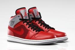 Air Jordan 1 Retro ′89 Fire Red/Cement Grey 해외발매