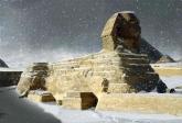 112년만에 눈이 내린 이집트