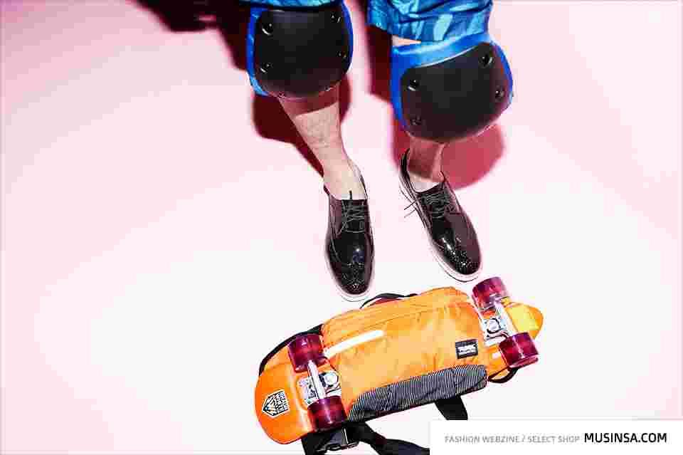 느슨한 스케이트보드처럼