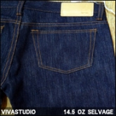 비바스튜디오 셀비지 데님(VIVASTUDIO PRODUCT01 14.5 OZ SELVAGE DENIM)