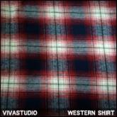 비바스튜디오 웨스턴 체크셔츠(VIVASTUDIO WESTERN SHIRT)