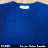 리파인드 케이블 스웨터니트(REFIND Garden Cable Sweater)
