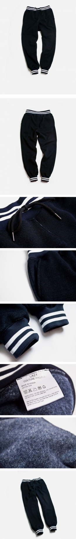 [LAZY]SWEAT JOGGER PANTS NAVY 발매!!