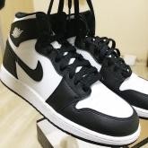 Nike Air Jordan 1 Retro High OG BlackWhite