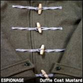에스피오나지 더플코드(ESPIONAGE Bernard Duffle Coat Mustard),겨울에 입기 좋은코트