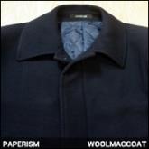 페이퍼리즘 울싱굴 코트(PAPERISM WOOL MAC COAT),