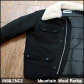 인사일런스 마운틴 울 파카(INSILENCE Mountain Wool Parka)