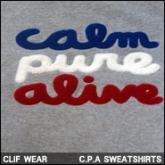 클리프웨어 맨투맨 티셔츠(CLIF WEAR .P.A SWEATSHIRTS),