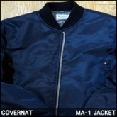 커버낫 MA-1 자켓 (COVERNA MA-1 JACKET NAVY
