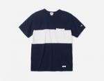 커버낫(Covernat) 밀도 높은 소재의 블록 포켓 티셔츠 출시
