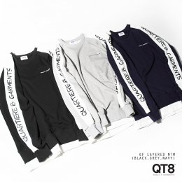 QT8 16 A/W  ′ LONG SLEEVE TEES ′