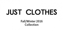 [NEW] JUST CLOTHES 16FW 신상품 발매!