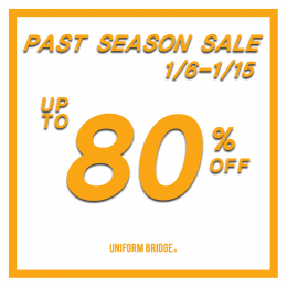 [유니폼브릿지] PAST SEASON UP TO 80% SALE