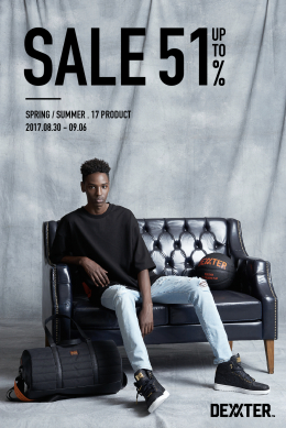 [DEXXTER] S/S.17 SALE UP TO 51%