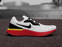 나이키(Nike)의 에픽리액트 레드솔, SNS상에서 공개