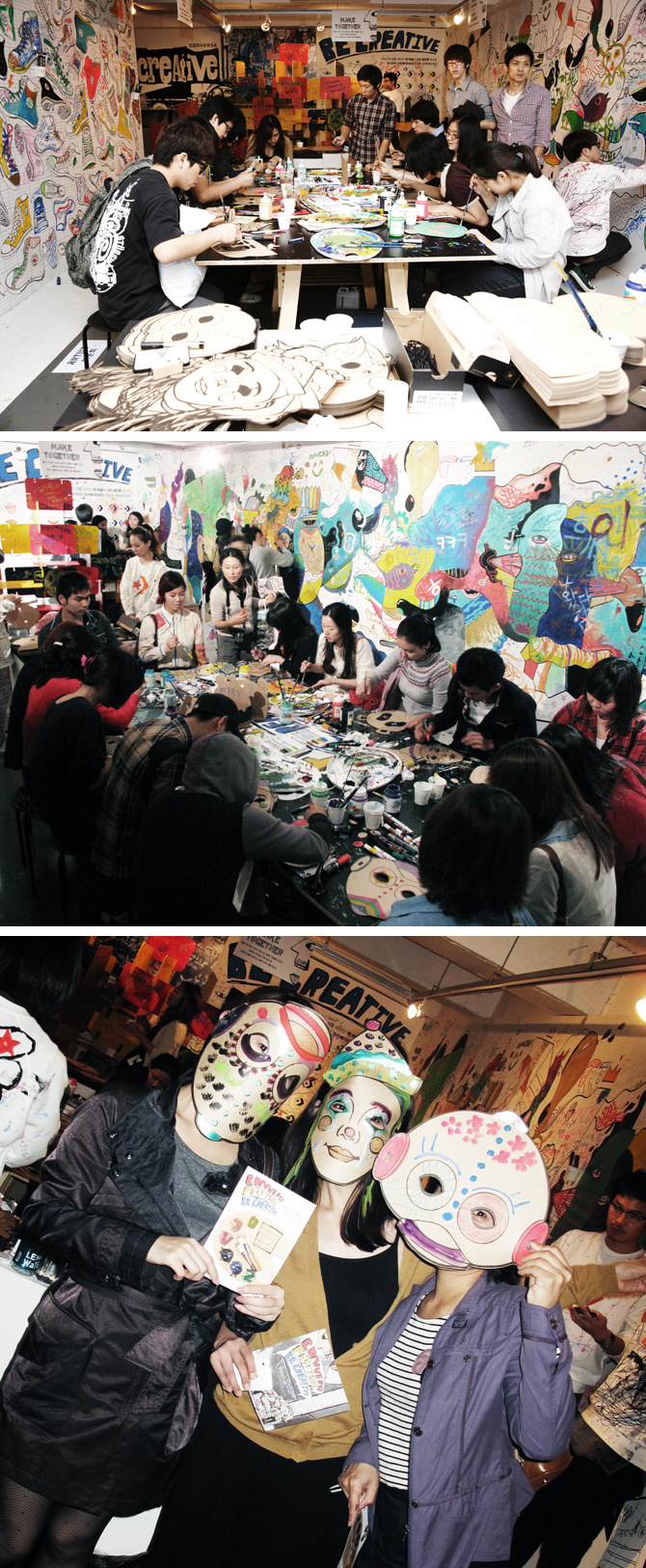 Converse Festival 'Be Creative' The Gallery
