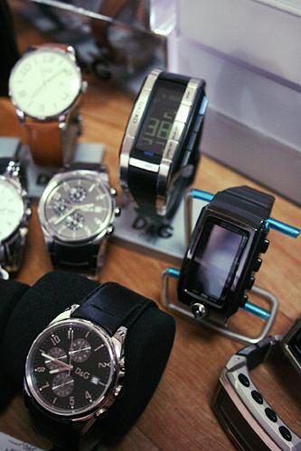 제가 요즘 착용중인 시계들입니다~!!^^