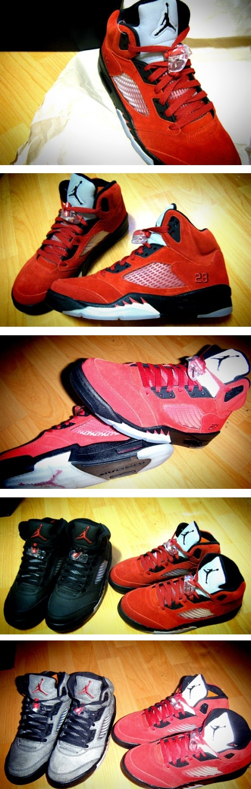 "Air Jordan 5 Retro DMP2 ""Raging Bulls Package"" + 캠핑 현장"