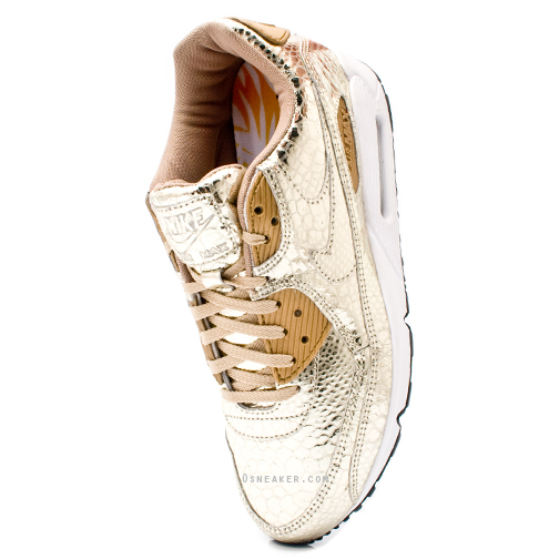 zapatillas nike air max mujer doradas