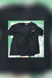 윅스눕(WEKSNOOP) (전체자수)SHOOT MOON OVERFIT T-SHIRT_BLACK 후기