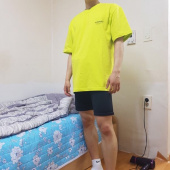 비바스튜디오(VIVASTUDIO) LOCATION LOGO SHORT SLEEVE IS [NEON YELLOW] 후기