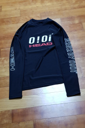 헤드(HEAD) [HEADX5252  by o!oi ] LOGO  BASIC  RASH GUARD(WOMAN)_JOQJH19201BKX 후기
