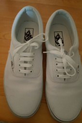 반스(VANS) 에라 / VN-0EWZW00 / ERA TRUE WHITE 후기