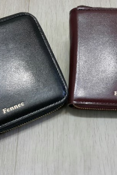 페넥(FENNEC) zipper wallet 007 wine 후기