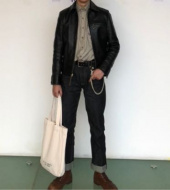 유니폼브릿지(UNIFORM BRIDGE) selvedge denim pants deep indigo 후기