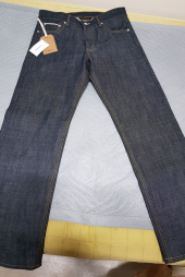 유니폼브릿지(UNIFORM BRIDGE) selvedge denim pants indigo 후기