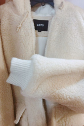 에스토(ESTO) ESTO FLEECE HOOD JUMPER IVORY 후기