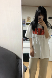 매드마르스(MADMARS) TWO TONE SLOGAN T-SHIRTS_BLACK 후기