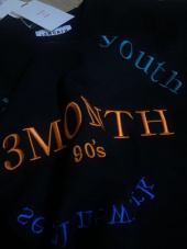 써틴먼스(13MONTH) RETURN AND YOUTH SWEATSHIRT (BLACK) 후기