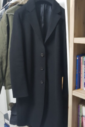 비바스튜디오(VIVASTUDIO) CUT OFF COAT GA [BLACK] 후기
