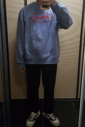팔칠엠엠(87MM) [Mmlg] MMLG SWEAT (PURPLE NAVY) 후기