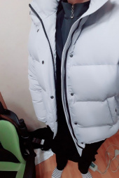 인사일런스(INSILENCE) ESSENTIAL DOWN JACKET (grey) 후기