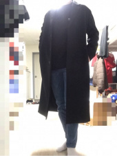 인사일런스(INSILENCE) CASHMERE LONG COAT (black) 후기