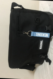 네이키드니스(NEIKIDNIS) ICON MESSENGER BAG / BLACK 후기