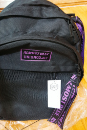 유니온 오브제(UNION OBJET) ULTRA VIOLET BACKPACK - BLACK 후기