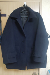 쟈니웨스트(JHONNY WEST) Dumpy Wool Coat (Zet Navy) 후기