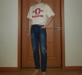 버닝(BURNING) Office Junior 1/2 T-shirt (Ivory) 후기