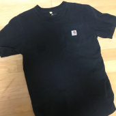 칼하트(CARHARTT) WORKWEAR POCKET T-SHIRT S/S (BLACK) 후기