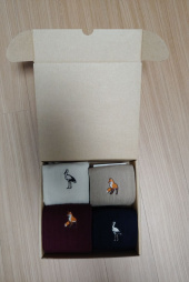 와일드 브릭스(WILD BRICKS) FOX/CRANE SOCKS 4SET (ivory/beige/burgundy/navy) 후기