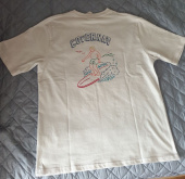 커버낫(COVERNAT) COVERNAT X RED BULL S/S SURFER MAN TEE ROYAL BLUE 후기