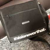 디스이즈네버댓(THISISNEVERTHAT) CORDURA® 750D Nylon Messenger Bag Black 후기