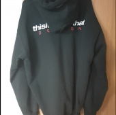 디스이즈네버댓(THISISNEVERTHAT) DSN Logo Hooded Sweatshirt Black 후기