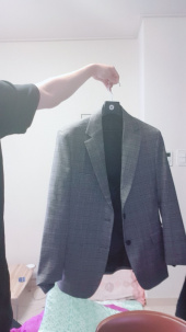 모디파이드(MODIFIED) M#1665 glen check single blazer 후기