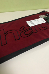 디스이즈네버댓(THISISNEVERTHAT) HSP Fleece Muffler Red 후기