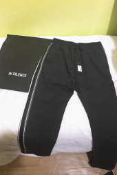 인사일런스(INSILENCE) SIDE TAPE PANTS (black) 후기